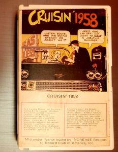 1958 ROCK&ROLL TUNES ~ CASSETTE TAPE